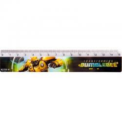 Линейка пластиковая Kite Transformers BumbleBee Movie TF19-090