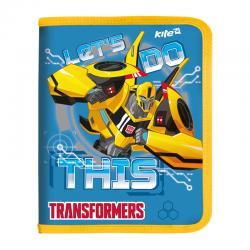 Папка на молнии для тетрадей Kite Transformers B5 TF17-203