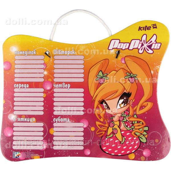 Доска с расписанием уроков + маркер Kite Pop Pixie PP14-145K