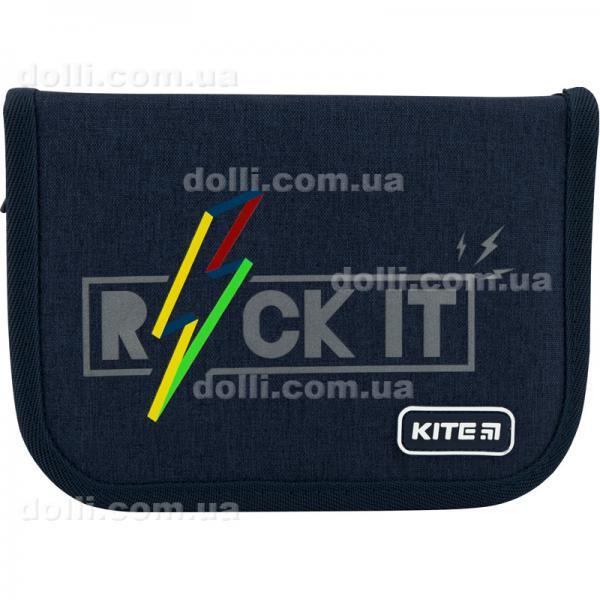 Пенал школьный с наполнением Kite Education Rock it K20-622H-10